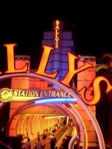 arch at Ballys Las Vegas