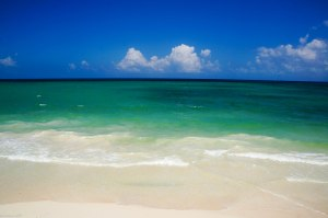 beautiful beach Riviera Maya