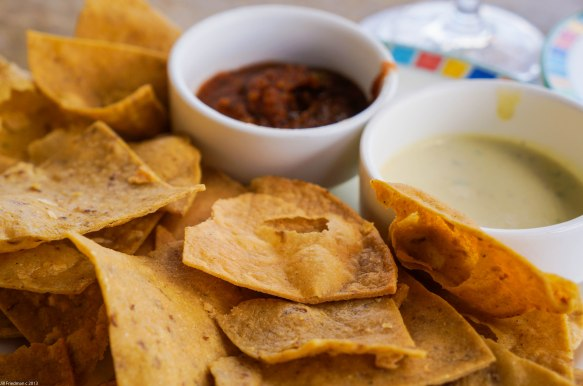 chips and dip Mexican style