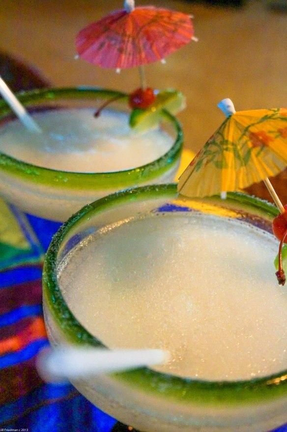 Yeah! Margaritas!! Great way to start a meal.