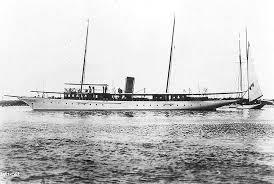 luxury steam yacht Celt