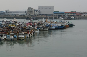 fishing fleet, Incheon Korea