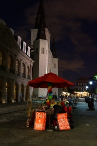 New Orleans, Jackson Square at night