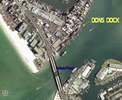 We lived across from Dons Dock on the finger bay.