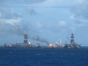 offshore helix mc 252 and intrepid 059