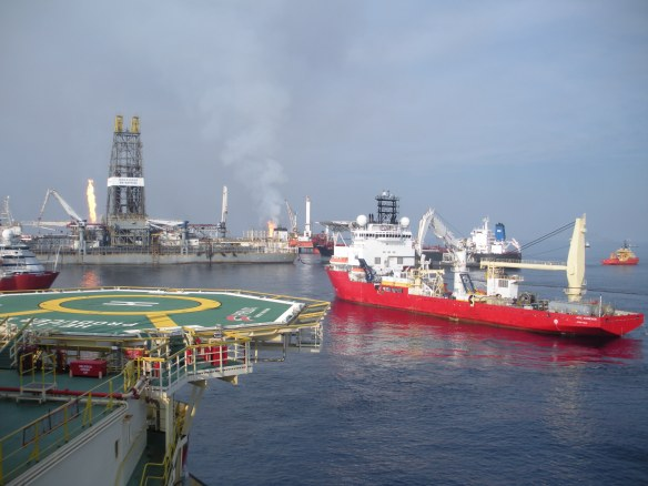 offshore helix mc 252 and intrepid 174